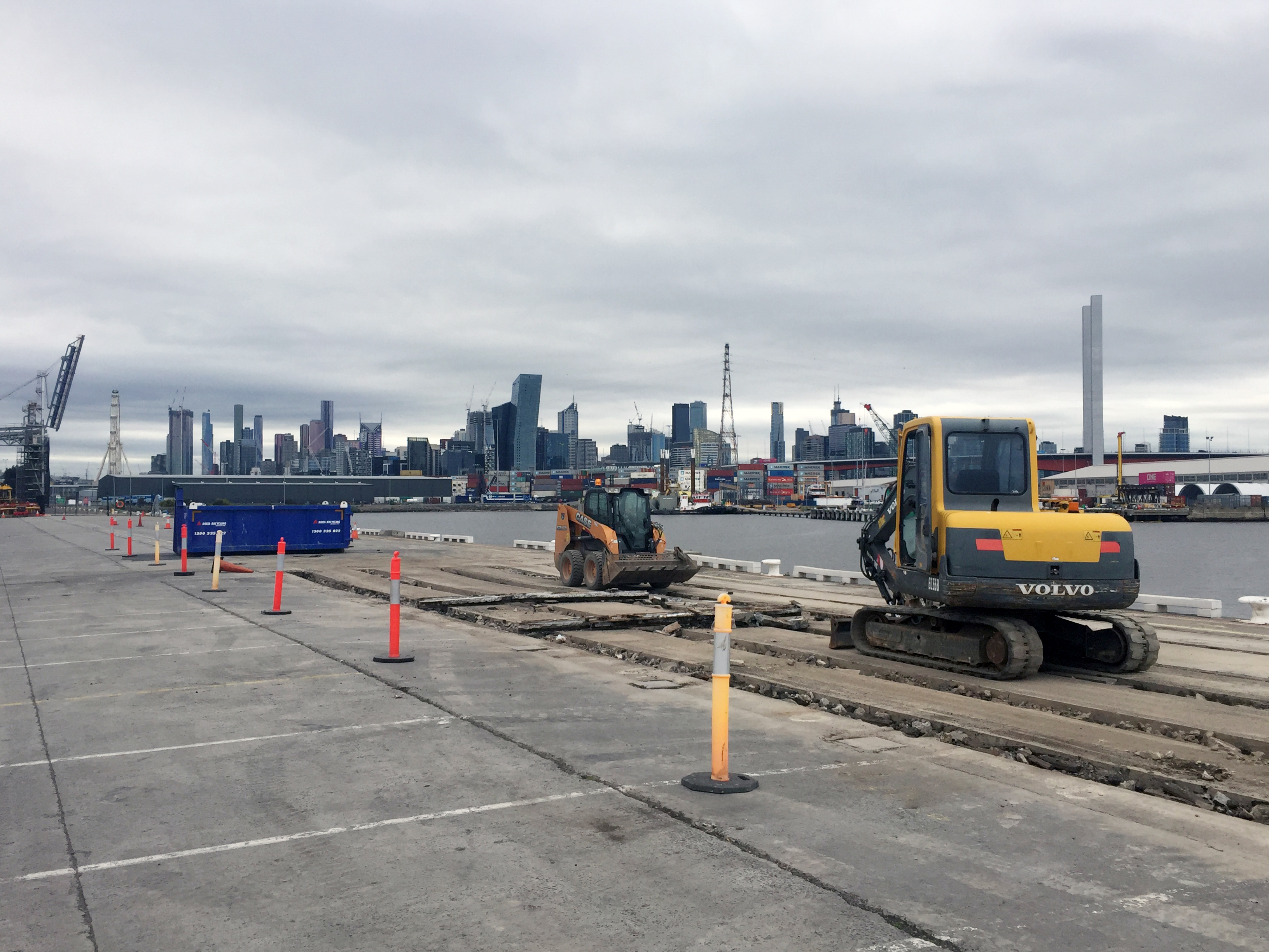 2Construct - Appleton Dock Port of Melbourne