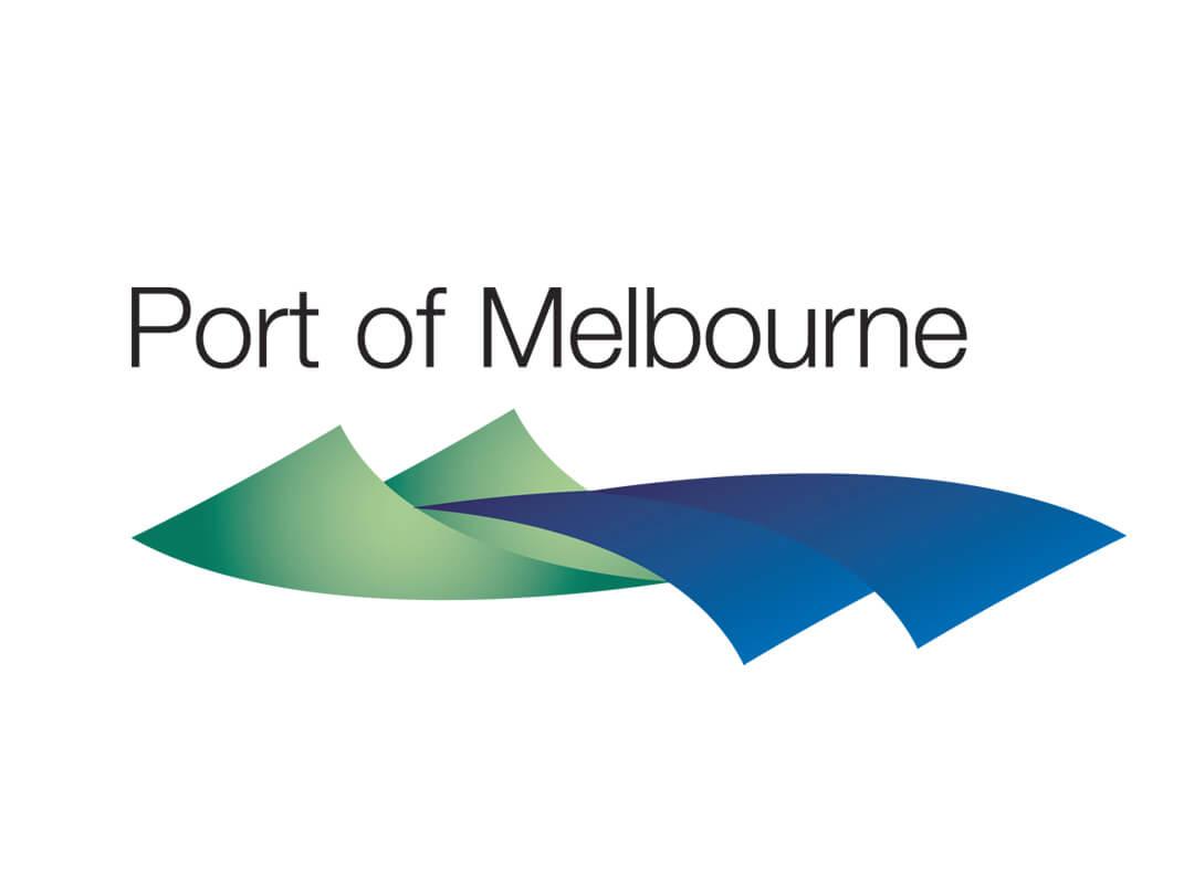 Port of Melbourne logo