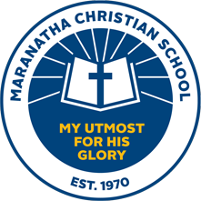 Maranatha Christian School logo