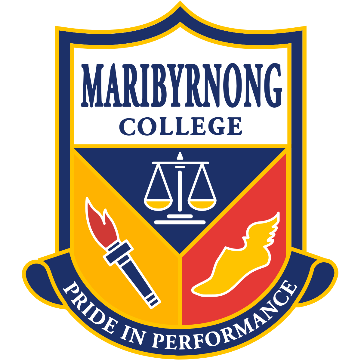 Marbibyrnong College Logo