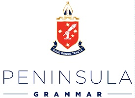 Peninsula Grammar logo