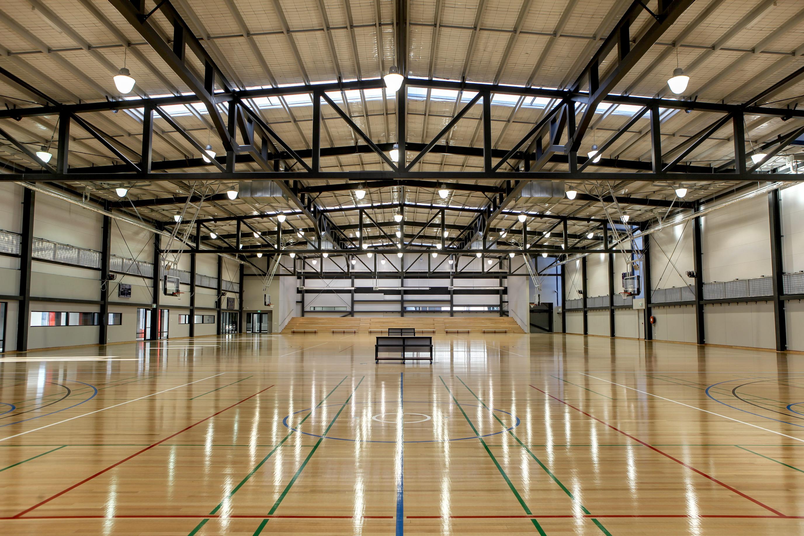 2Construct - Keilor Park Basketball Stadium 00