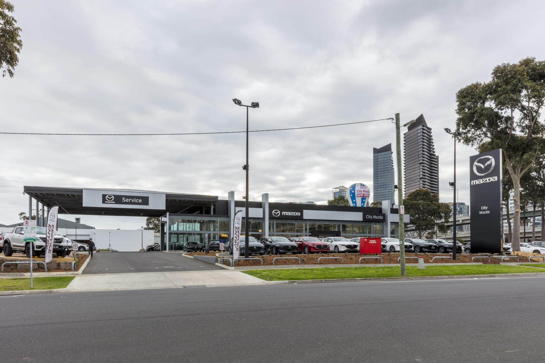 2Construct - Melbourne City Mazda 01