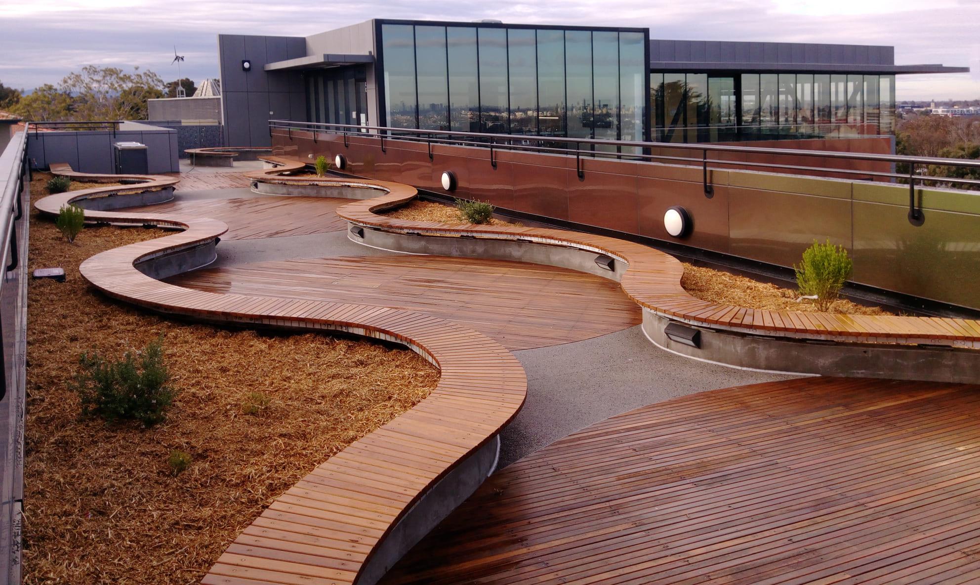 2Construct - Carey Baptist Rooftop Garden 01