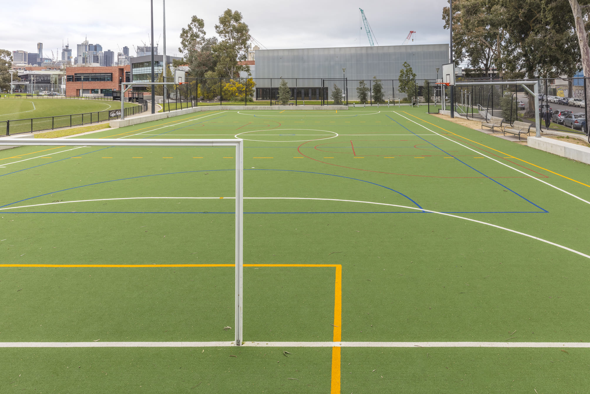 2Construct - North Melbourne Synthetic Court 01